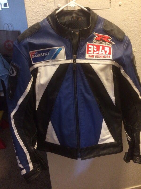 Agv Suzuki Leather Jacket