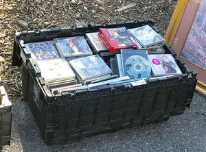 Assorted CD collection
