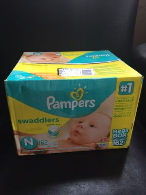 Pampers mega box new