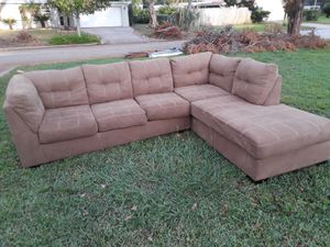 One year old, L- shaped sofa available for pickup. Slightly used, but in great shape. 180 OBO