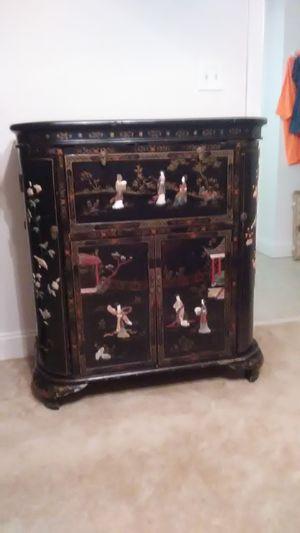 Oriental liquor cabinet