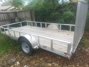 2017 6×15 aluminium trailer ... brand new