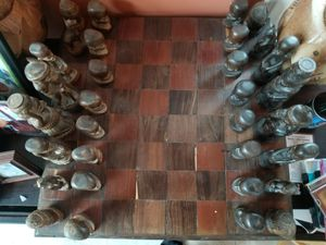 Custom built and designed chess board