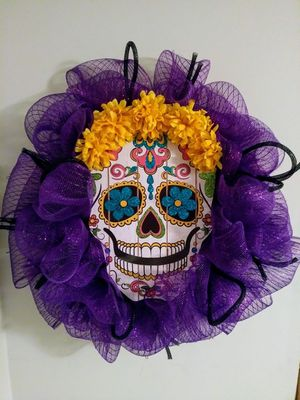 Wreath Dia del Muerto