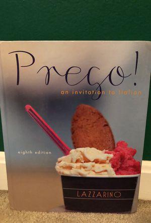 Presco Italian Language Textbook