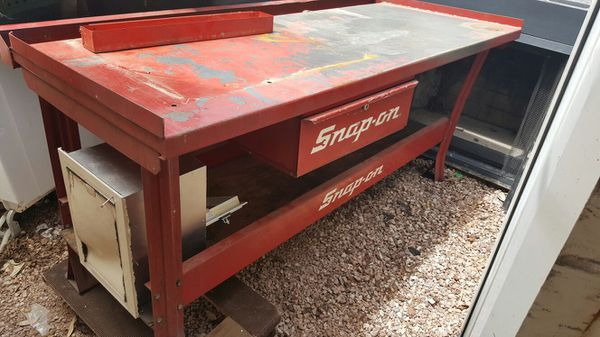 snap on work bench transmission table tools machinery