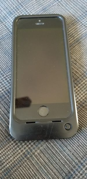 IPhone 5S with Otter box charging case