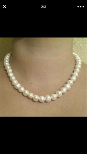 8-9mm real pearls set