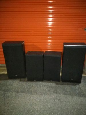 KLH speakers set of 4