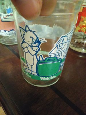 Tom & Jerry jelly glaases