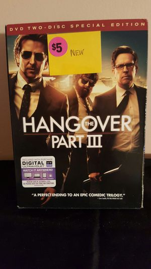 The Hangover Part III Special Edition DVD