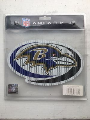 Baltimore Ravens Window Decal
