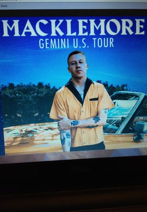 Macklemore tickets Seattle