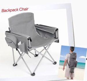 Brylane Home Heavy Duty Gray Backpack Chair