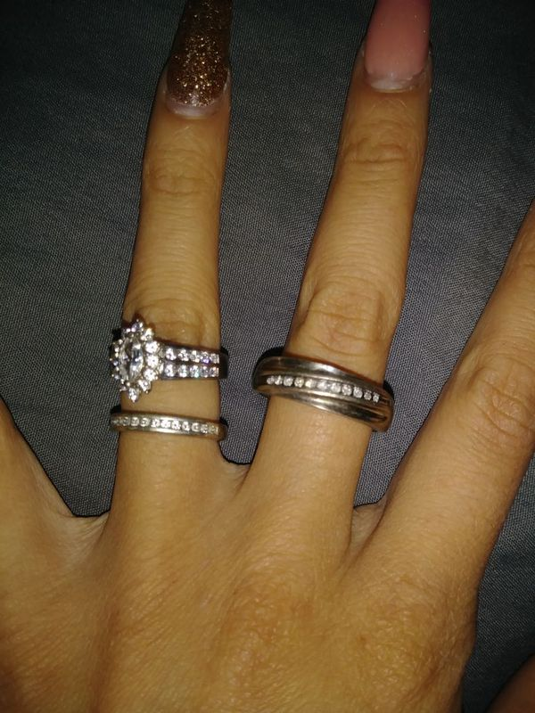 Full set wedding rings Jewelry Accessories in El Paso TX