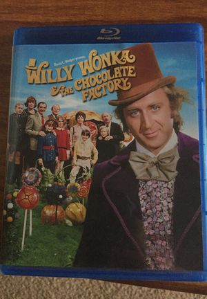 Blue ray DVD Willy Wonka The Chocolate Factory