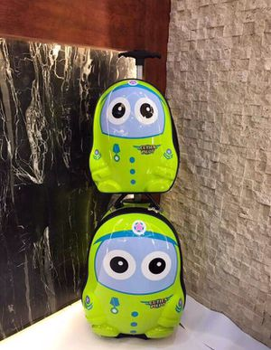 2PCs kids luggage