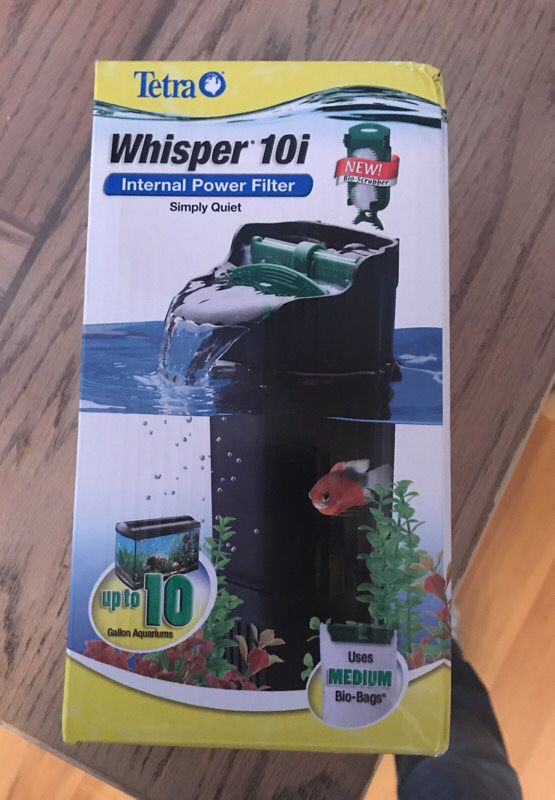 10 gallon fish tank power filter (pet supplies) in belleville, il ...