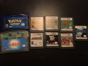 DS and GBA games