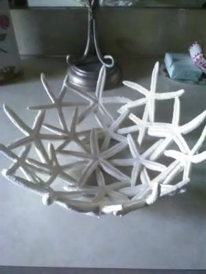 Decorative Starfish Bowl