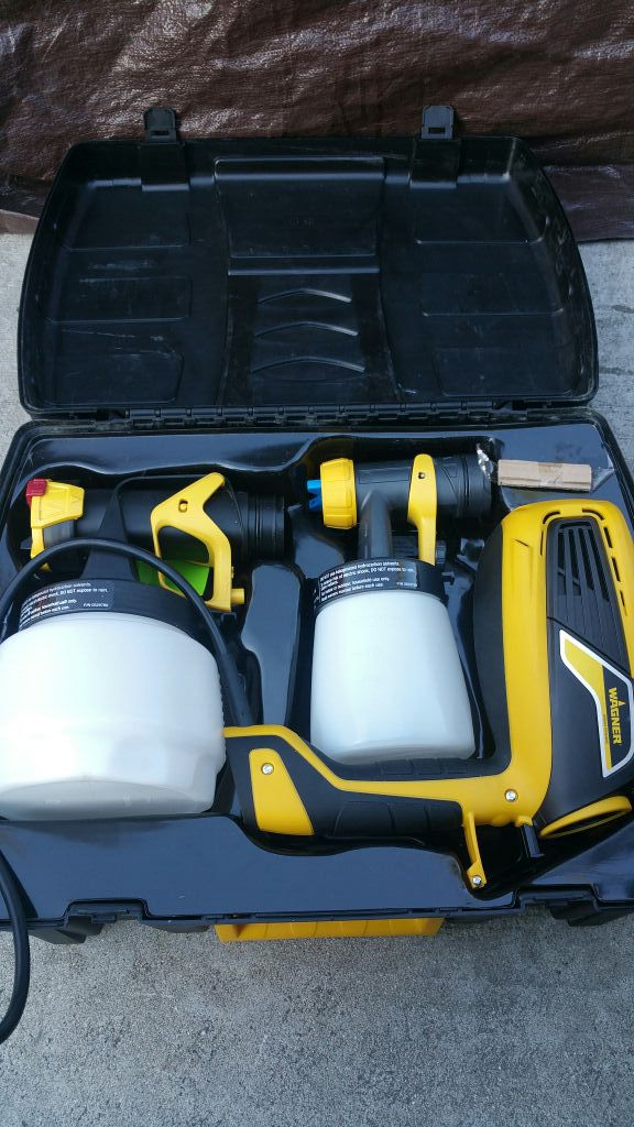 wagner flexio 590 hvlp paint sprayer tools machinery in fontana
