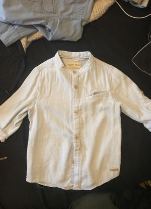 Boys Zara 3/4 sleeve shirt