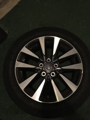 17 inch rims and tires (Nissan)
