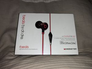 BRAND NEW ibeats by Dr. Dre in-ear headphones