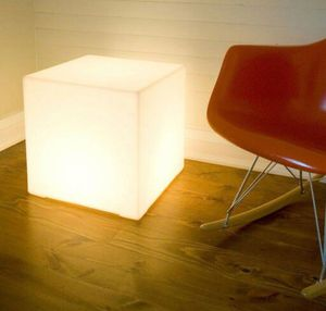 Gus* Modern lightbox with bulb socket for hue bulbs