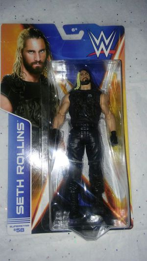 NEW-WWE -SETH ROLLINS. - BEST OFFER OR TRADE