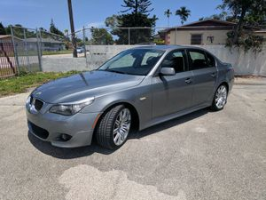 SATURDAY SPECIAL ONLY 999.00 DOLLARS DOWN PAYMENT AND DRIVE 2008 BMW 550I MSPORT CLEAN TITLE FREE CARFAX LOW MILES MINT CONDITION