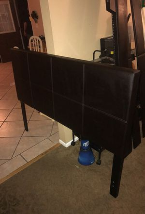 QUEEN BED, Head board, foot board, and rails
