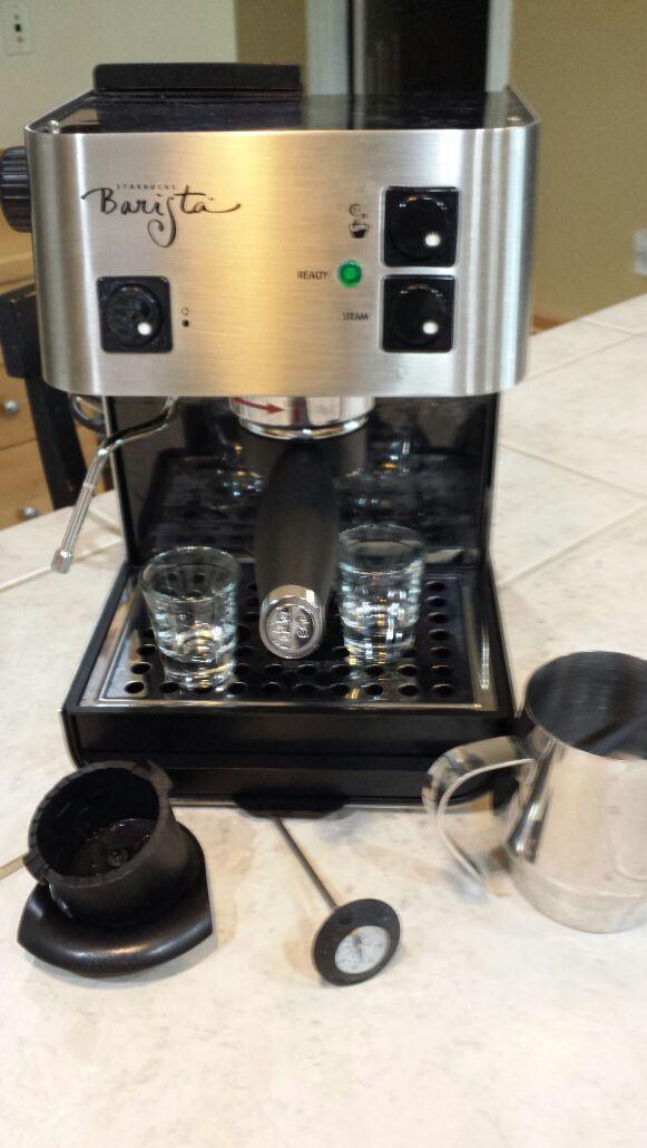 barista starbucks machine