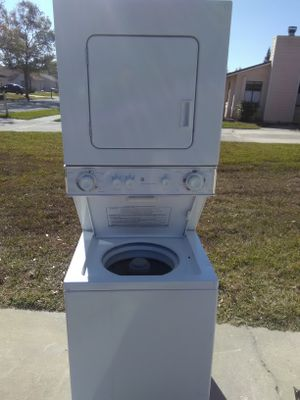 GE 24 inch stackable washer and dryer
