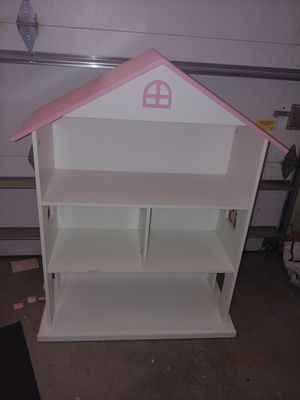 Book shelf, dolhouse play