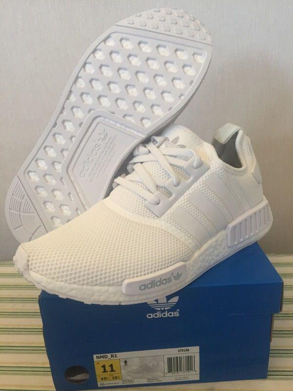 vqgcfz Adidas NMD Triple White sz.11 ( Clothing & Shoes ) in Santa Clara