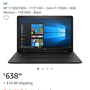 hp laptop , hp pc