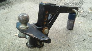 Heavy Duty adjustable trailer drop hitch