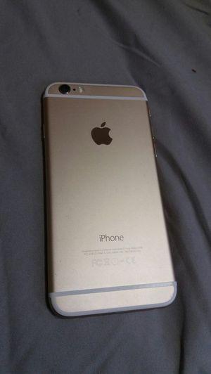 Unlocked iPhone 6 gold 16gb