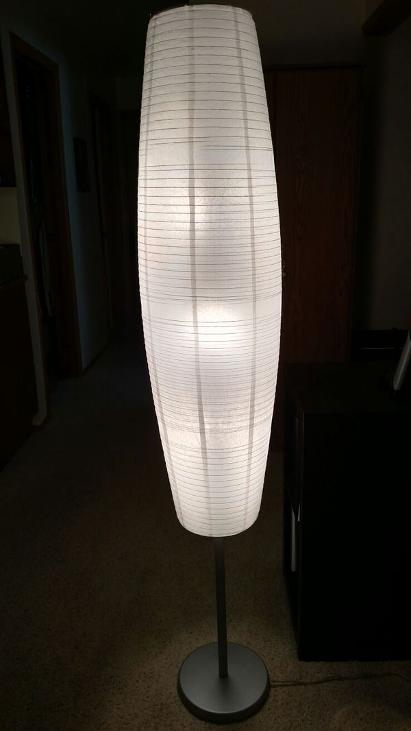 paper lantern floor lamp household in redmond wa offerup. Black Bedroom Furniture Sets. Home Design Ideas