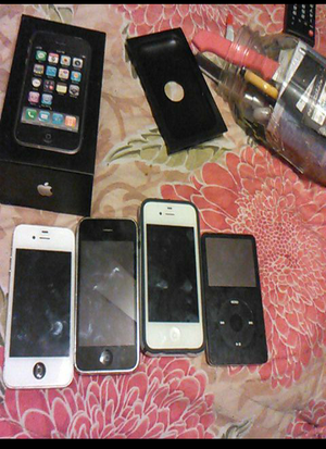 All paid off iPhones and iPod