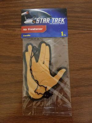 Loot crate Star Trek car air freshener