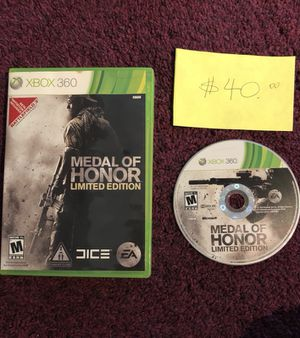 Xbox360 Medal of Honor limited edition