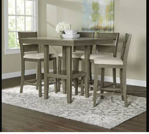 New Brantford 5 Piece Counter Height Dining Set Furniture In Cincinnati OH