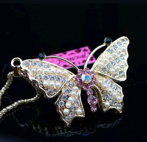 Bestey Johnson Butterfly Necklace