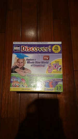 "Education DVD with book ""Your child can Discover"""