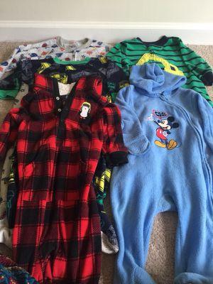Baby boy winter pajamas