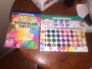 Kids made modern watercolor kit