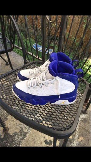 Lakers Jordan 9s - Size 9