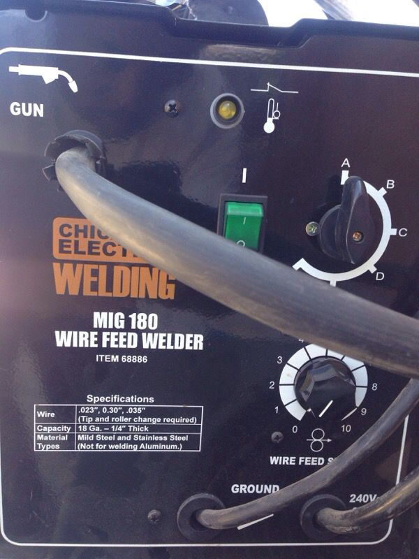 Chicago electric Welder manual